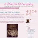 A Little Bit of Everything blog