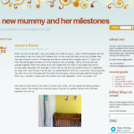 My Pad for an iPad A New Mummy and Her Milestones