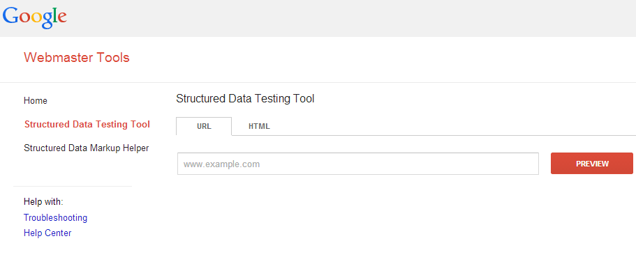 Rich Snippet Testing Tool