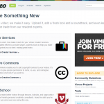 Vimeo screen grab