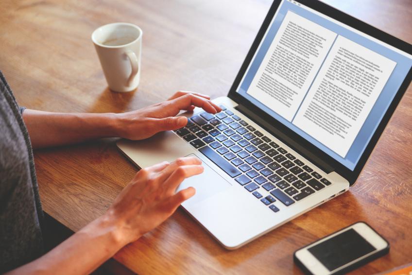 Designing a blog ebook