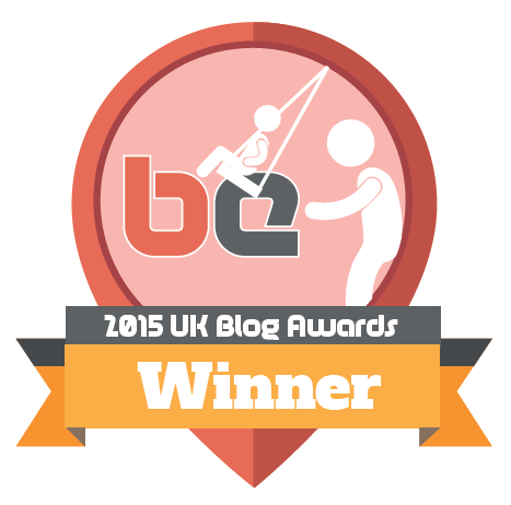 Blogging Edge 2015 blog awards winner